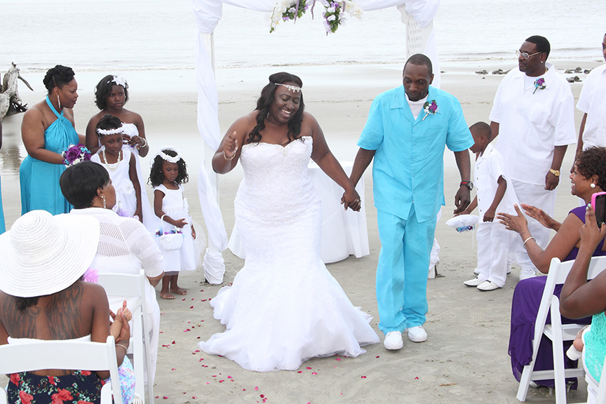 jekyll driftwood beach weddings