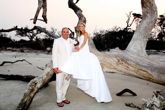 Driftwood Beach Jekyll Island Georgia Weddings